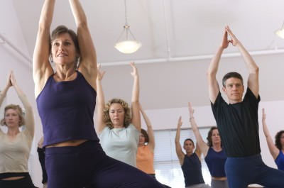 Exercise like yoga can release endorphins and reduce the effects of stress
